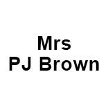 Mrs PJ Brown